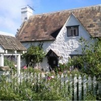 "Real Storybook Cottage Reminiscent Of Rosehill Cottage In Movie ""The Holiday"""