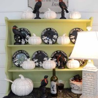 A Spooky Halloween Hutch