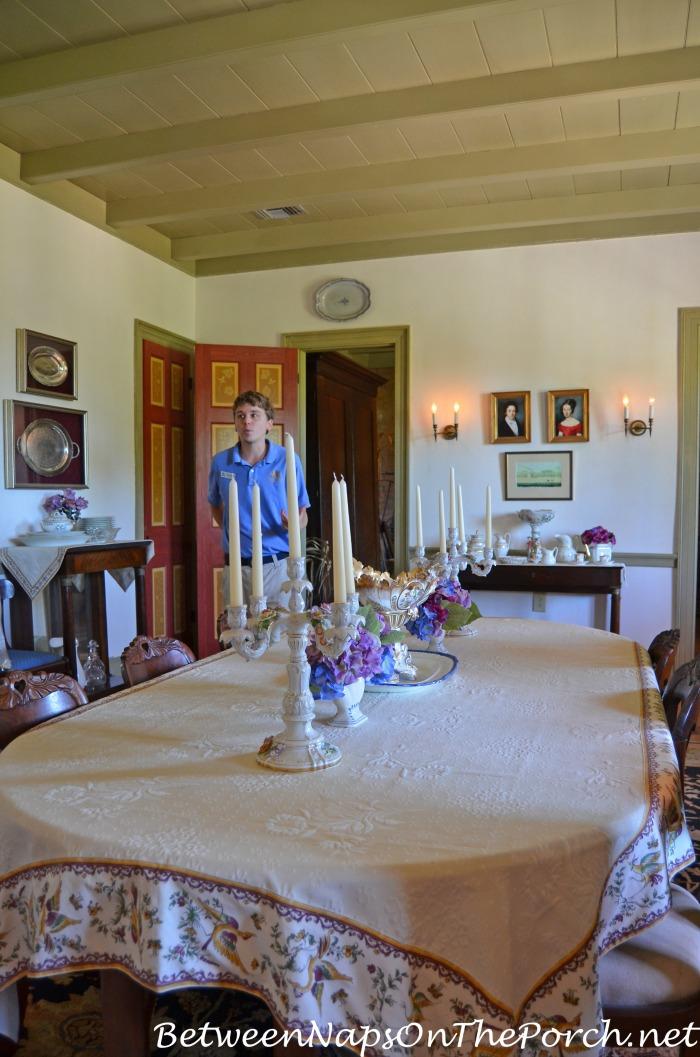 Laura Plantation Dining Room in Louisiana