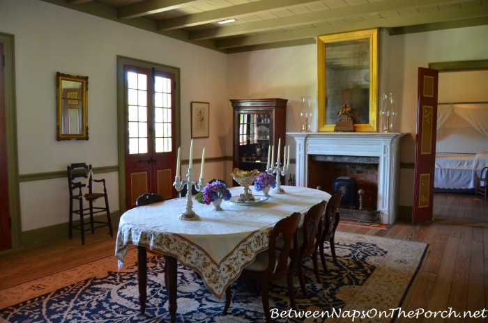 Laura Plantation Dining Room in Louisiana 16