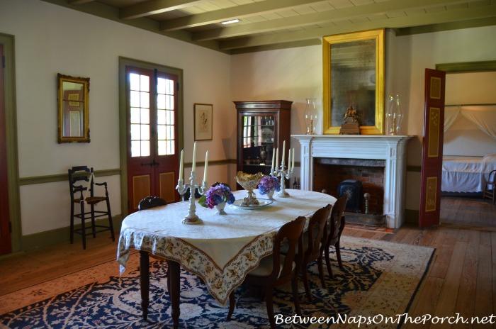 Laura Plantation Dining Room in Louisiana 16