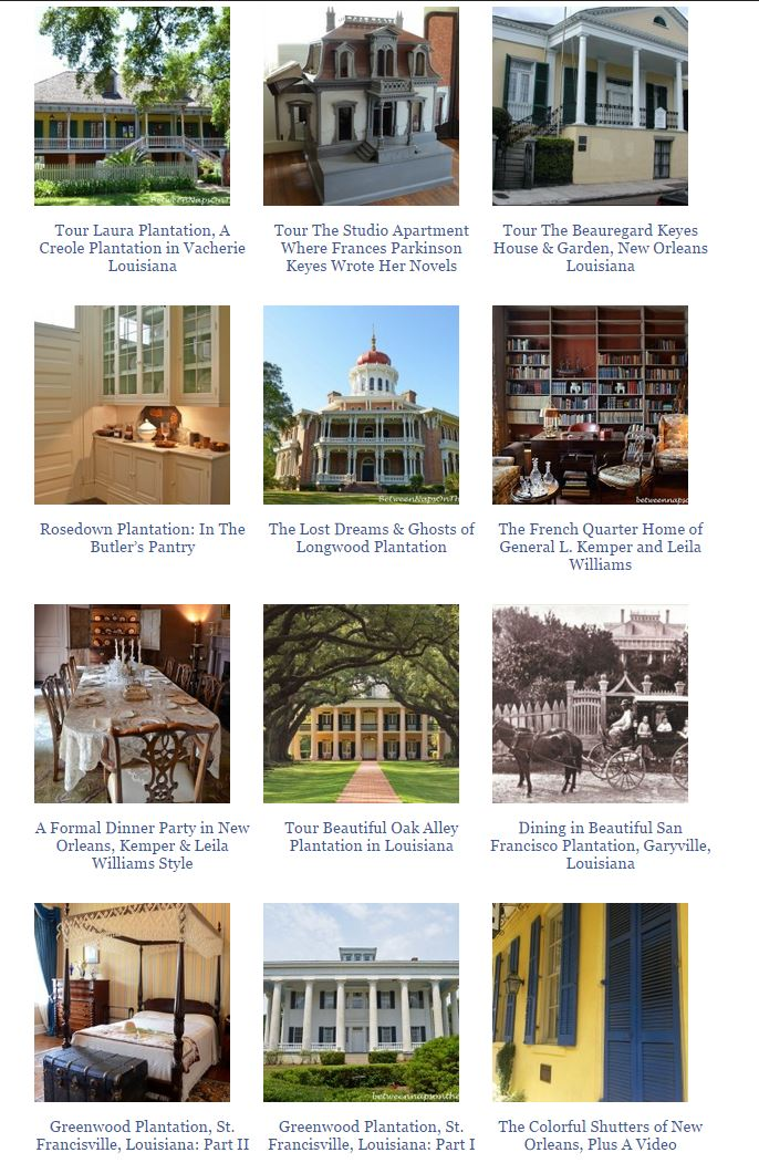 Louisiana Plantation Homes