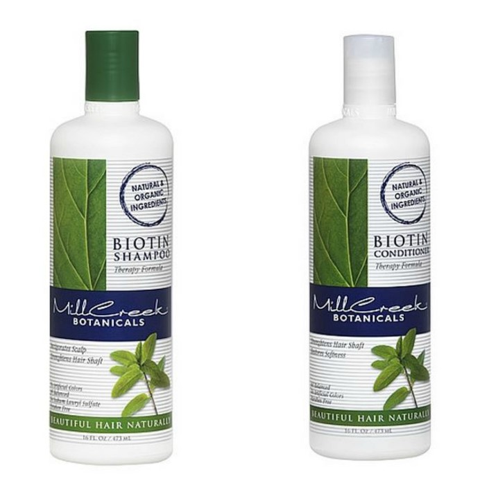 Mill Creek Botanicals Biotin Shampoo & Conditioner