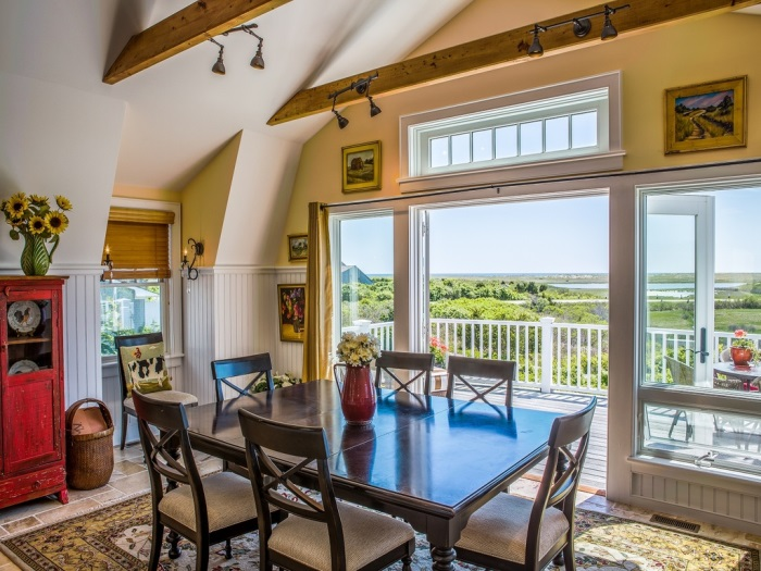Oceanside Cottage Dining Room in Edgartown, MA