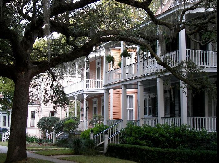 Old Point Neighborhood in Beaufort, South Carolina