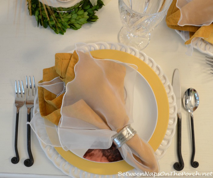 Whimsical Table Setting With Gourmet Settings Treble Clef Flatware_wm