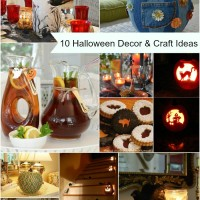 10 Halloween Decor and Craft Ideas