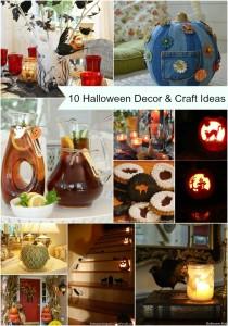 10 Halloween Decor and Craft Ideas