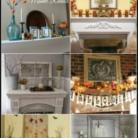 6 Fabulous Fall Mantels!