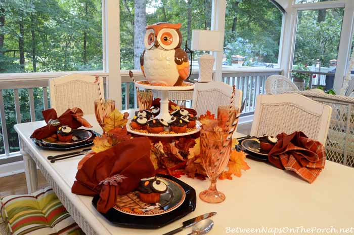 Children's Halloween Table Setting