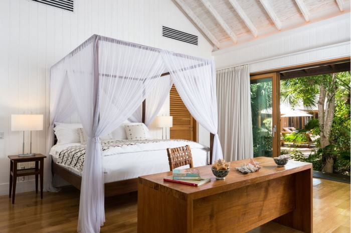 Christie Brinkley's Master Bedroom Suite in Lucky House