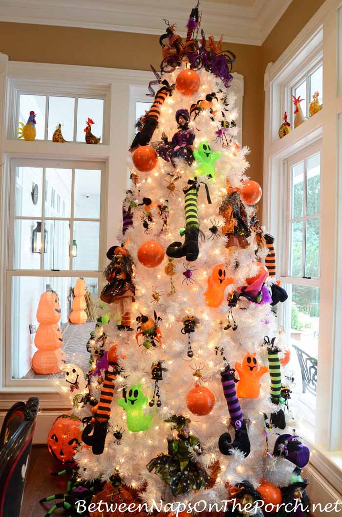 Decorate a Tree for Halloween