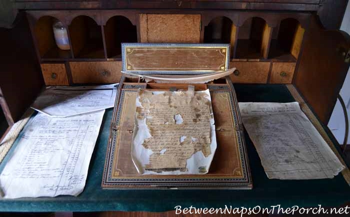 Desk, Gentlemen's Study, Nottoway Plantation