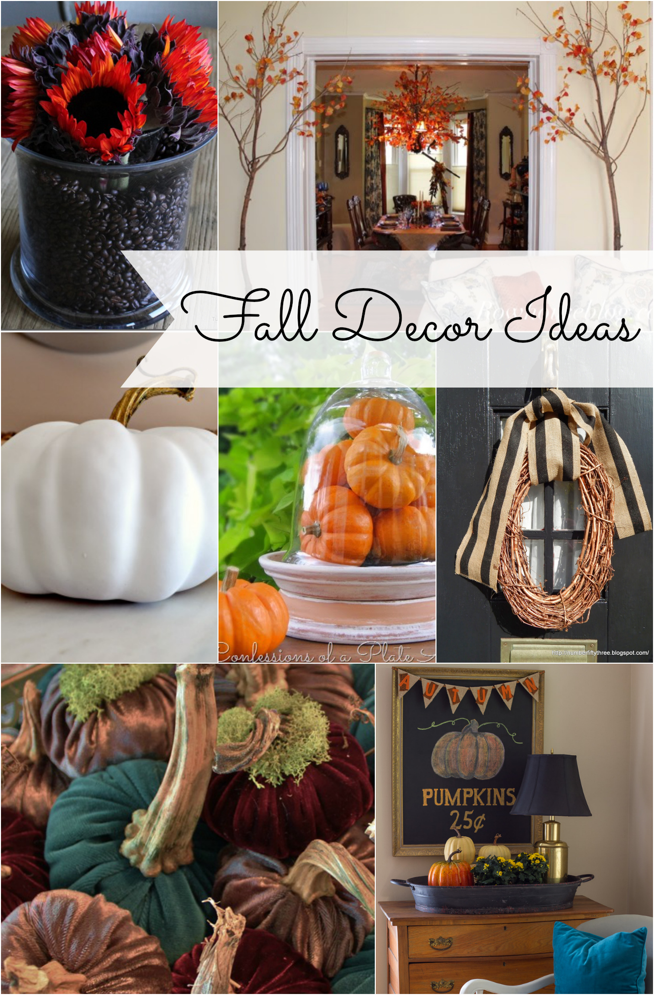 Decoration Ideas: Fall Decorating Ideas