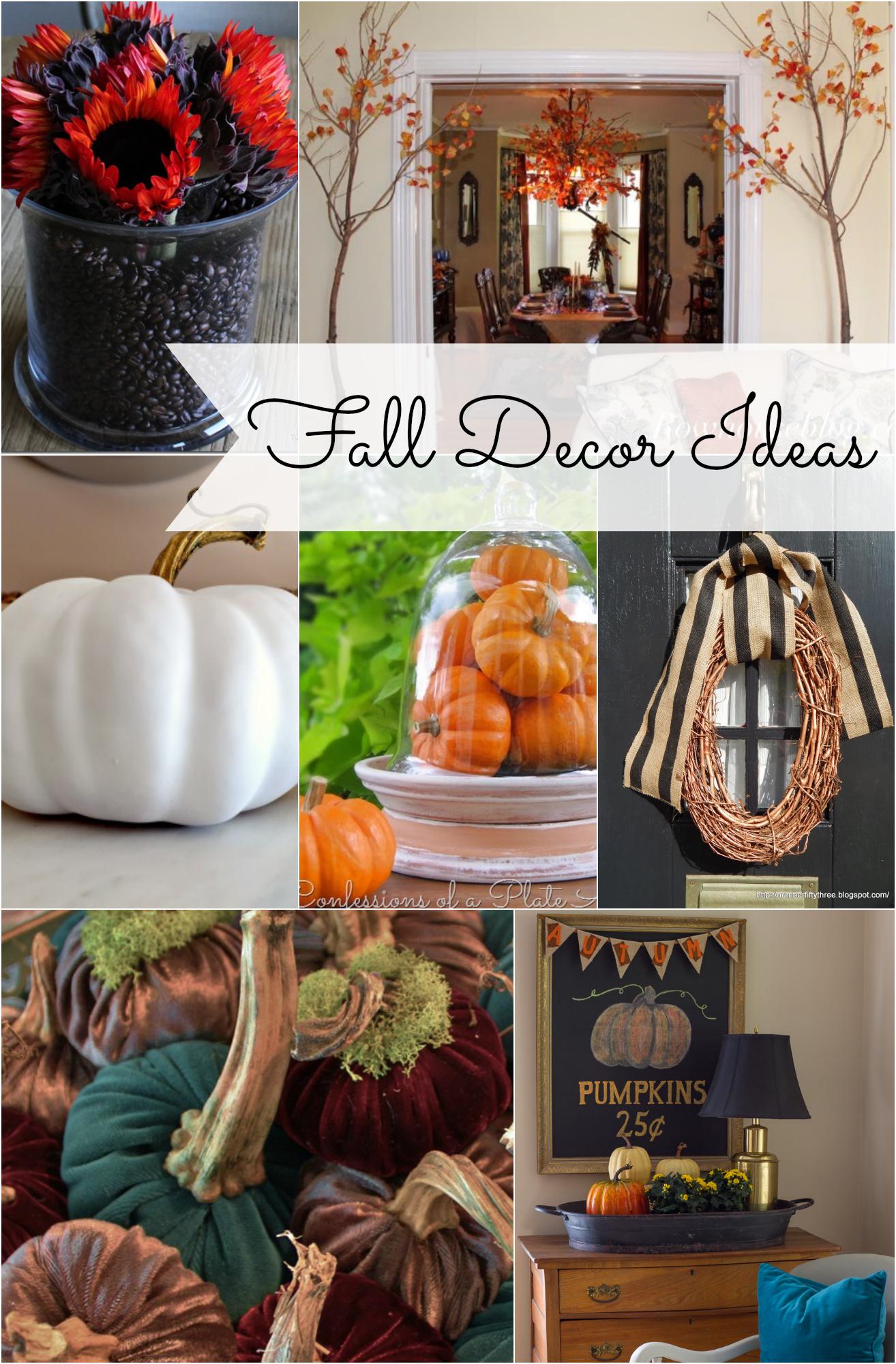 Autumn ideas for home.