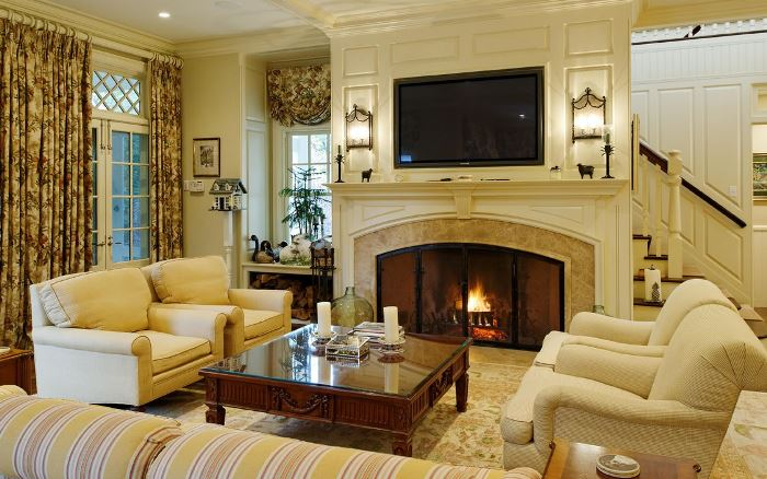 Greenwich Traditional Living Room