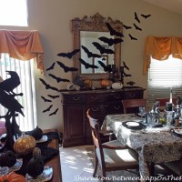 Halloween Tablescape, Edgar Allan Poe Inspired