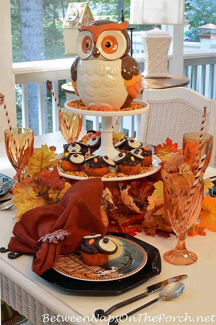 halloween-table-setting-david-carter-brown-pumpkin-hollow-plates