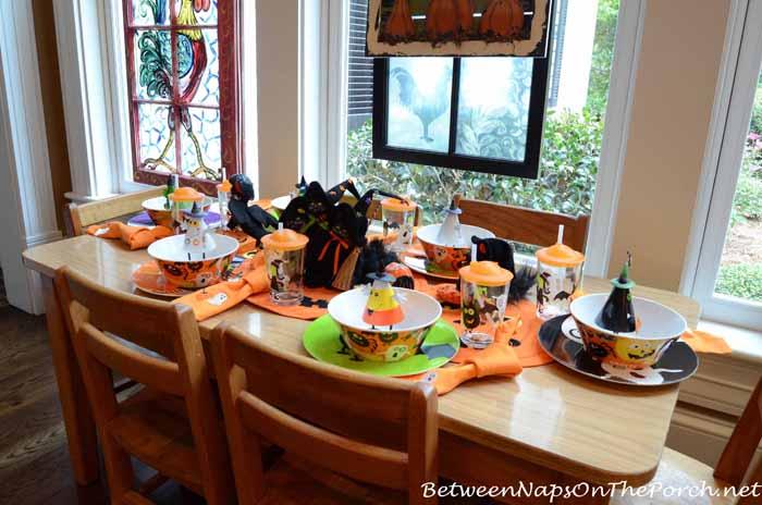 Halloween Table Setting for Children 2