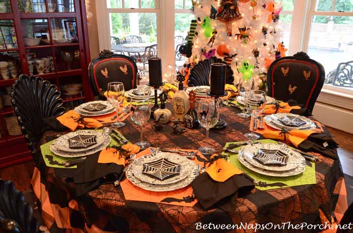 Halloween Table Settings Tablescapes For Adults And For
