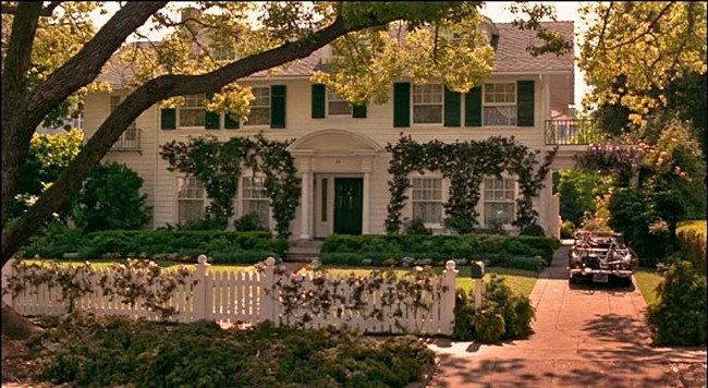 House in movie, Father of the Bride