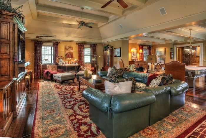 Living Room Tommy Dosey Tall Oaks Home On Bernardsville Mountain 08