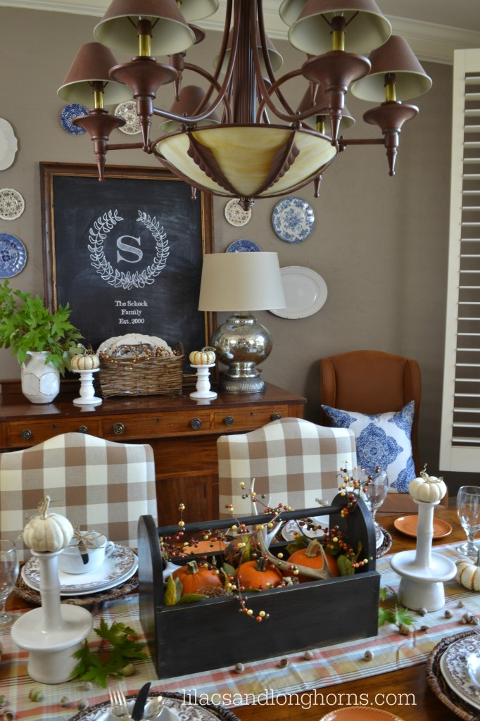 5 Fabulous Fall Tablescapes
