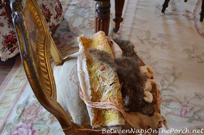 Nottoway Plantation Chair Stuffed With Horsehair