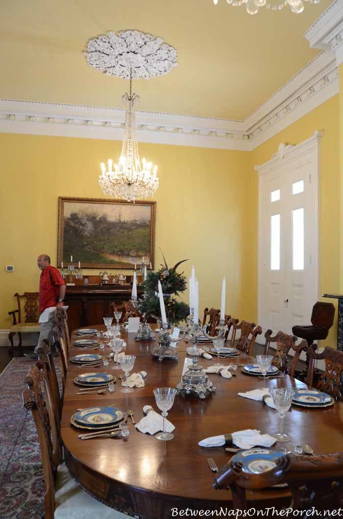 Nottoway Plantation Dining Room