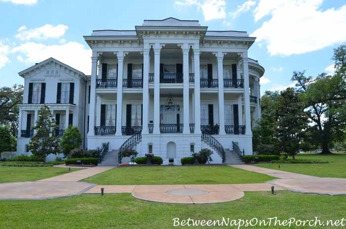 Tour nottoway plantation in white castle louisiana for Home builders in louisiana