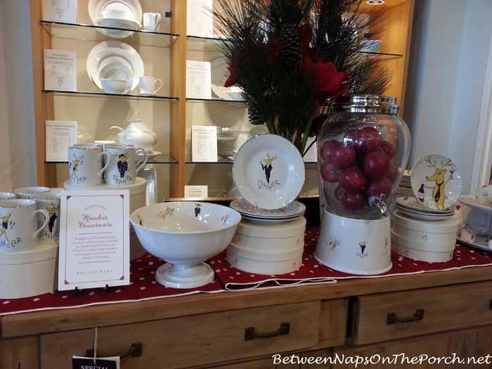 Pottery Barn Reindeer Dinnerware
