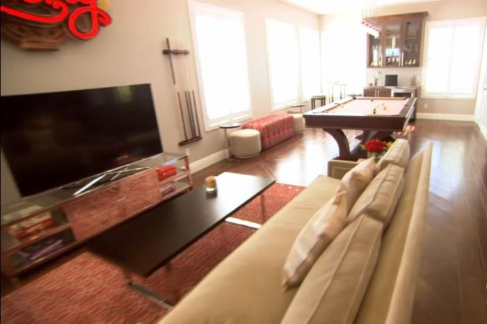Property Brothers Jonathan Drew Scott's Home Game Room