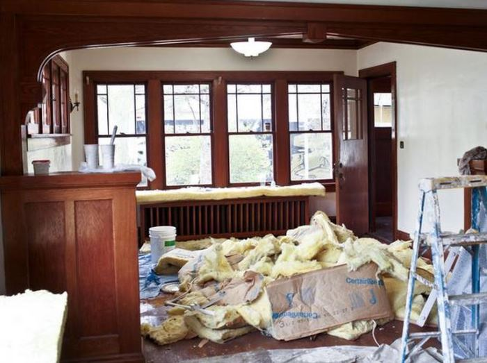 Rehab Addict Nicole Curtis Bungalow Living Room Makeover Before