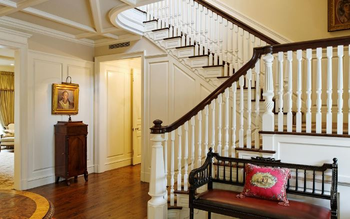 Classic traditional design greenwich style - Give home signature look elegant balustrades ...