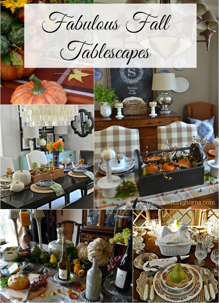 5 fabulous fall tablescapes between naps on the porch