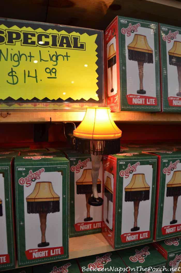 A Christmas Story House Night Light