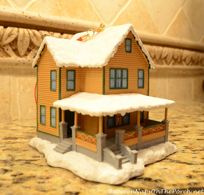 A Christmas Story Movie House Ornament