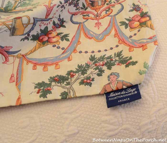 Collection Duchatel Bedding by Maison du Linge  France_wm