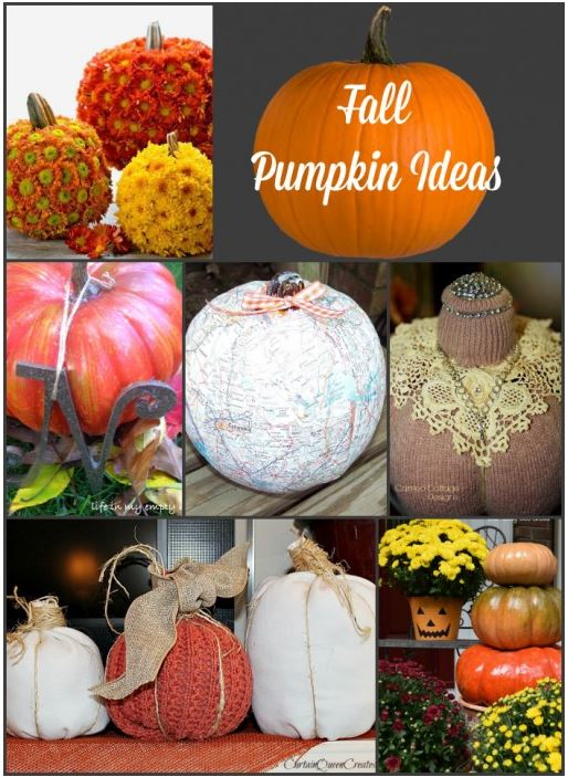 Fall Pumpkin Ideas