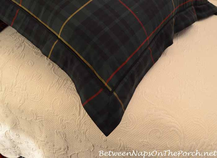 Feather & Down Pillow Insert Fills Out Euro Sham