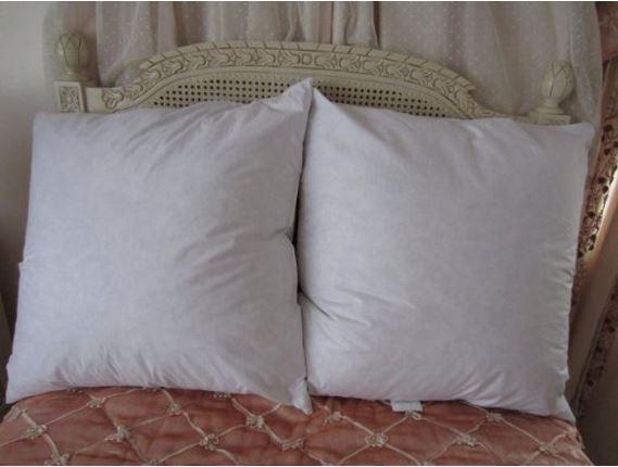 feather and down euro pillow sham inserts vs poly filled With best euro pillow inserts