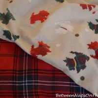 A Cure For The Floppy Pillow Flange & Adorable Scottie Sheets