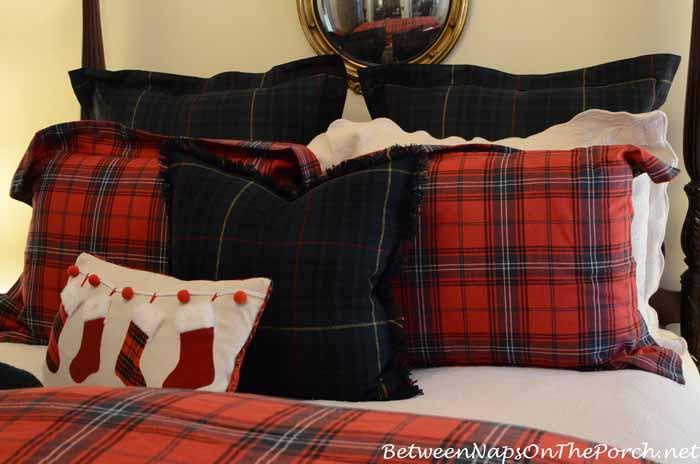Plaid Bedding With Ralph Lauren Devonshire Shams