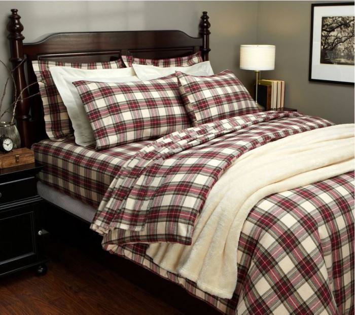 Tartan Bedding For Winter