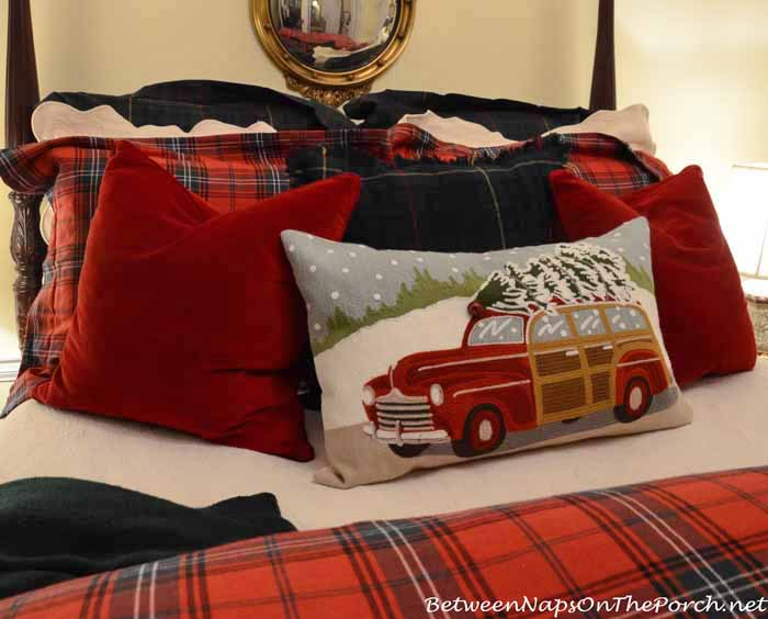 Pottery Barn Woody Christmas Pillow