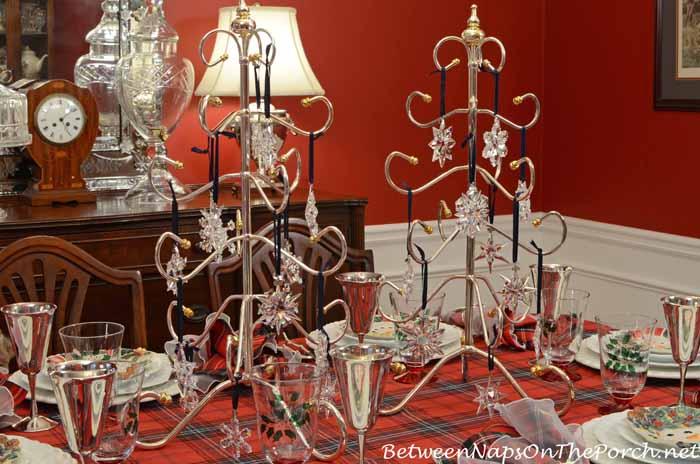 Swarovski Crystal Snowflake and Star Ornaments
