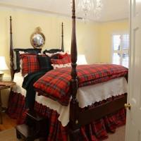 Dressing The Bed In Tartan: Ralph Lauren Inspired