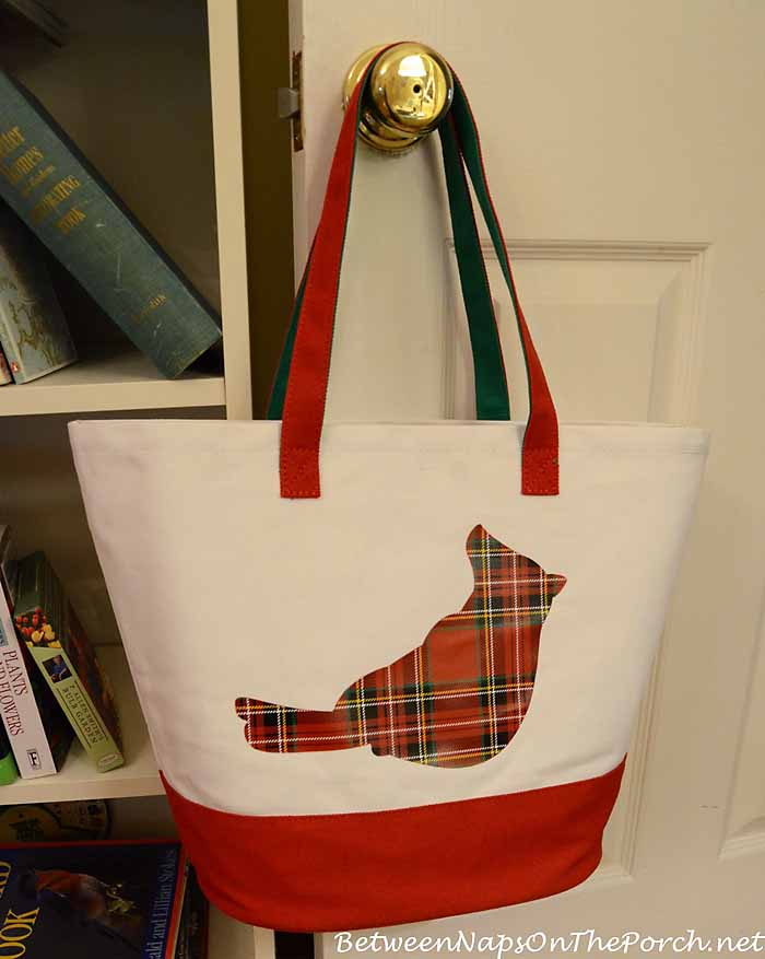 Tartan Cardinal Book Bag From Barnes and Noble