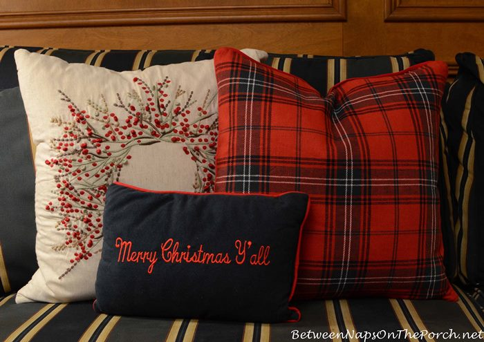 Tartan Christmas Pillows