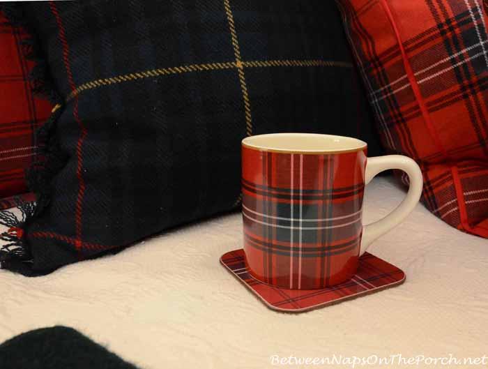 Tartan Mug and Coaster